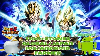 💥FLASH SALE💥 1100+ Stones - Dokkan Battle - Global - iOS/Android💥