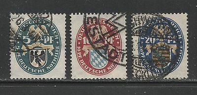 1925 Germany  complete set  semi postal stamps used, $ 26.00