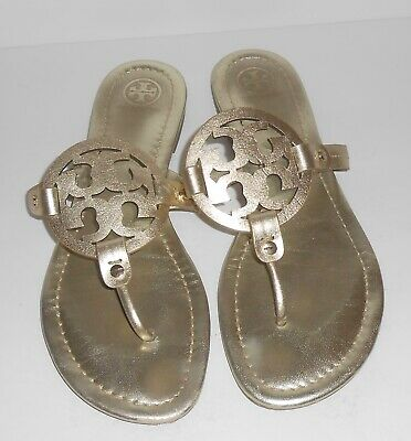 2c7aa1283b466 TORY BURCH MILLER Sandals Size 9 Gold Sandals -  189.99