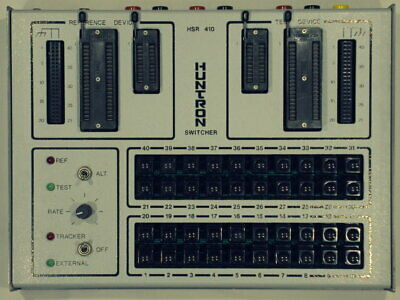 Huntron HSR410 Switcher Unit. For Remote Operation of Tracker Series. Tested!
