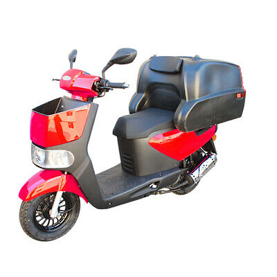 TONELLI ZIPPY 125cc DELIVERY SCOOTER RED FOOD Delivery Scooter