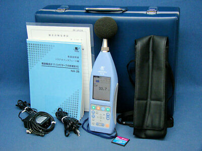 sound level meter with octave band analyzer