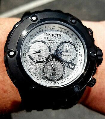 Invicta Reserve 52Mm Specialty Subaqua Meteorite Watch! Sold Out 26198