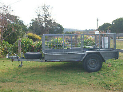 8X6Ft Tipping Trailer For Hire