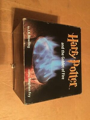 Harry Potter and the Goblet of Fire Read By Stephen Fry (Rare Cover, Out Of Prin