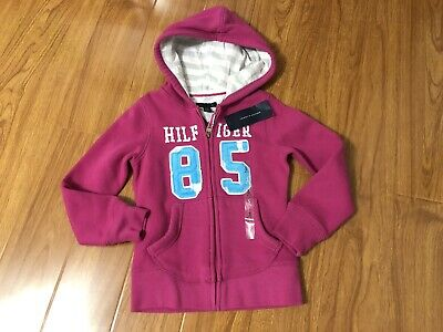 c1a63f81a TODDLER GIRLS TOMMY HILFIGER Hoodie Shirt! Size 6 Cute New with tags ...