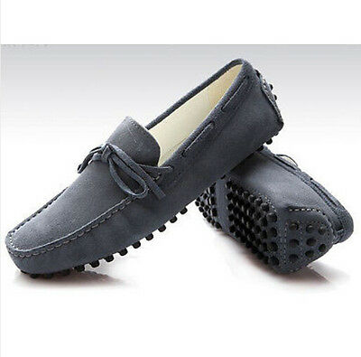 bd54cb55452 Men s Casual Driving Gommino Moccasins Suede Slip on Fashion Loafer Boats  Shoes