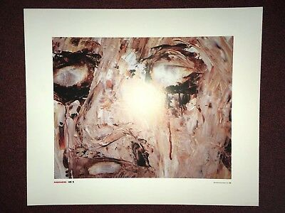 RADIOHEAD Kid A Very Rare STANLEY DONWOOD Promo Poster LITHOGRAPH Mint Condition