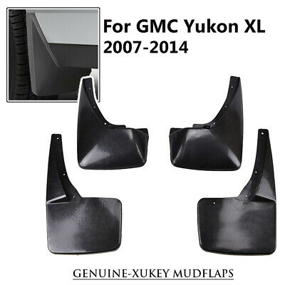 Set Molded Splash Guards For GMC Yukon XL 2007-2014 Mudguards Mud Flaps Mudflaps