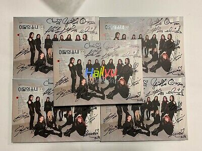 "MONTHLY GIRL LOONA ""X X"" Mini Repak-  Autographed(Signed) Promo Album"