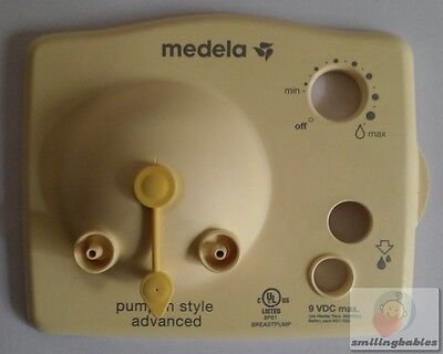 Medela faceplate Pump In Style Advanced Face Plate Black 9V