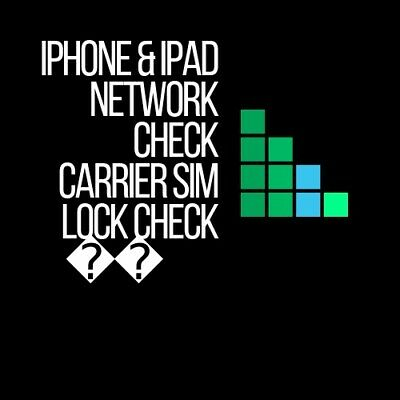 Apple iPhone Ipad IMEI checker Network Carrier Sim lock Blacklist Status 15 Mins