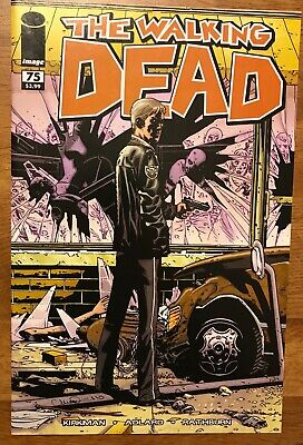 Image Sold Out And Hard To Find Walking Dead 109 Blank Sketch Cover Variant NM