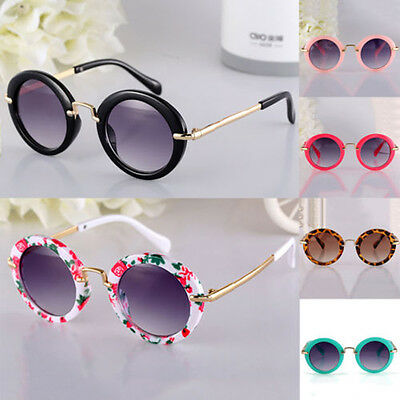 Candy Colors ANTI-UV Glasses Children Round Sunglasses Eyewear  Boys Girls Toy