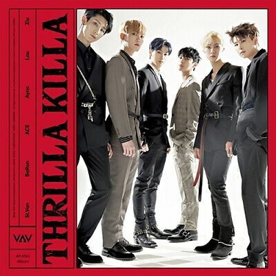 VAV [THRILLA KILLA] 4th Mini Album CD+Photo Book+Post Card+Photo Card SEALED