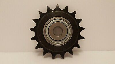 NEW! 40 17H 1/2 Ball Bearing Idler Sprocket