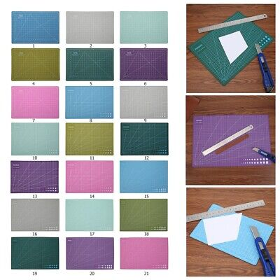 A3/A4/A5 2 Side Self-healing Non Slip DIY Cutting Board Patchwork Mouse Mat Pad
