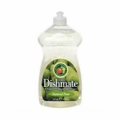 Earth Friendly Baby Dishmate Washing Up Liquid - Pear [750ml] (8 Pack)