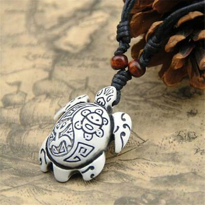 1PC Women Boho Turquoise Tortoise Turtle Animal Pendant Charm Necklace JewelryFW