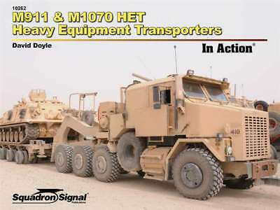M911 & M1070 HET Heavy Equipment Transporters in Action Squadron / Signal 10262