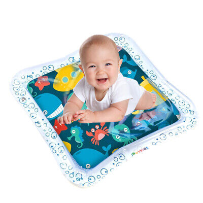 Baby Inflatable Water Mat Kids Patted Play Pad Cushion Toy Gift for Baby Showers