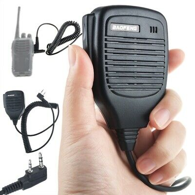 Baofeng BF-S112 Handheld Speaker-Microphone for Handheld Dual-Band Two-Way Radio
