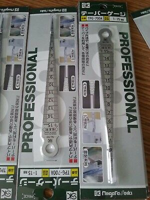 1PC NEW SK TPG-700A feeler gap ruler 1-15mm  #CZ 344