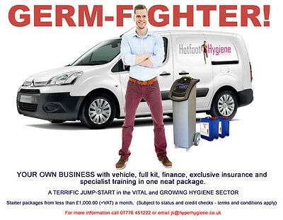 Start Your Own Specialist Hygiene Business - Genuine Professional Opportunity!