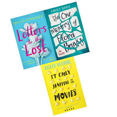 It Only Happens in the Movies One Memory of Flora Letters 3 Books Collection Set