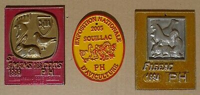 Lot Ancienne Plaque Concours Agricole Elevage Aviculture Agricultural Livestock