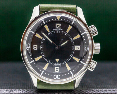 Jaeger LeCoultre 200.84.70 Memovox Tribute to Polaris 1968 Limited BOX + PAPERS