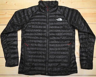 b840d5acf THE NORTH FACE TREVAIL BLACK 800 DOWN insulated MEN'S PUFFER SWEATER ...