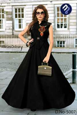 Fabulous Bollywood Gown Hand Aary Worked Fancy Superb Color Kajal Vol 1-5007