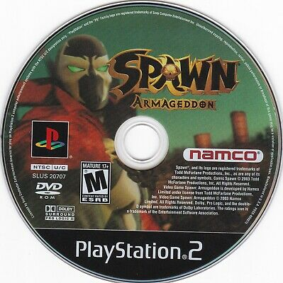 Spawn: Armageddon (Sony PlayStation 2, 2003) **DISC ONLY**