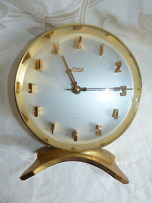 Vintage 1970 Pendule Imexal fabrication Suisse Pendulum Clock Swiss Made
