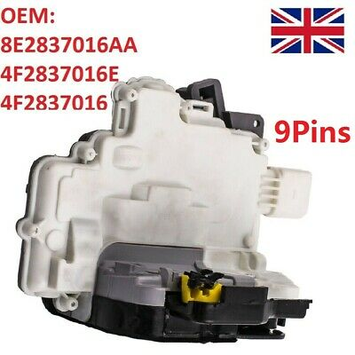 Front Right Driver Side Door Lock Actuator For Audi A3 (8P) A6 (C6) A8 (4E) Uk