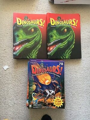 Orbis Play & Learn Dinosaurs! Complete Magazine Collection 1-78 MINT