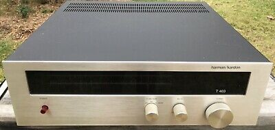 VINTAGE HARMAN KARDON AM/FM STEREO ANALOGUE TUNER model #T 403