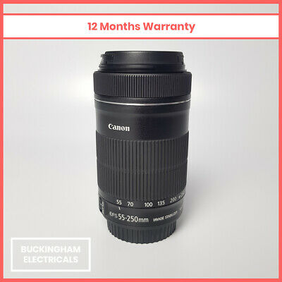 Canon EF-S 55-250mm f/4-5.6 IS STM Telephoto Zoom Lens - 12 Months Warranty