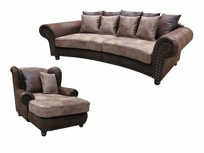 Couch Gunstig Big Sofa Hawana Sofort Lieferbar Big Sessel