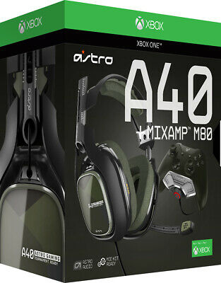 Astro Gaming - A40 Wired Stereo Headset for Xbox One with MIXAMP M80