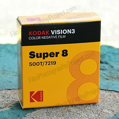 Super 8 Film - Kodak Vision3 500T / 7219 Color Negative
