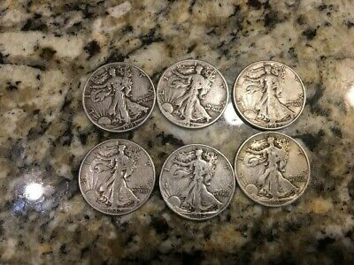 90 % Silver  Walking Liberty Half Dollar AC COINS  PRICE LISTED IS PER COIN.