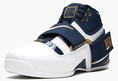 sports shoes 6673a 634d8 NIKE ZOOM LEBRON Soldier CT16 QS '25 Straight' AO2088-400 MIDNIGHT NAVY sz  9-10