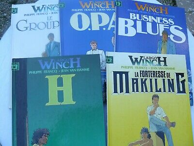 Lot De 5 Bd Largo Winch En Eo