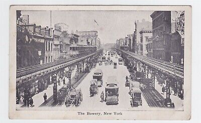 The Bowery New York View Ad For Wright's Indian Vegetable Pill Co