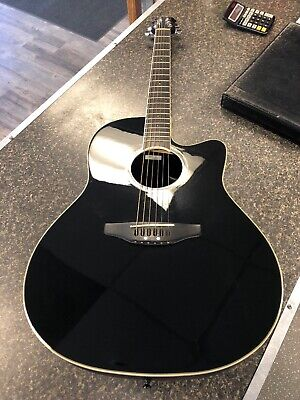 Hard-Working Ovation Celebrity Cutaway Cc68 Acoustic Electric Guitar With Case Acoustic Electric Guitars