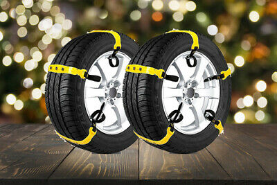 Car Snow Chains Snow Tire Chains for Most Cars Anti-slip Universal