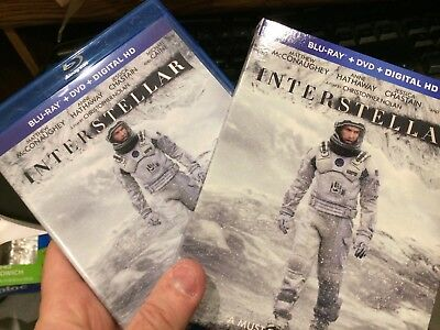 Interstellar (Blu-ray/DVD) w/ slipcover - Christopher Nolan
