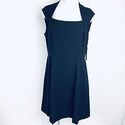 511c90a24ff49e CHELSEA ROSE DRESS Size 16 Sleeveless Charcoal Grey Buckle Front ...